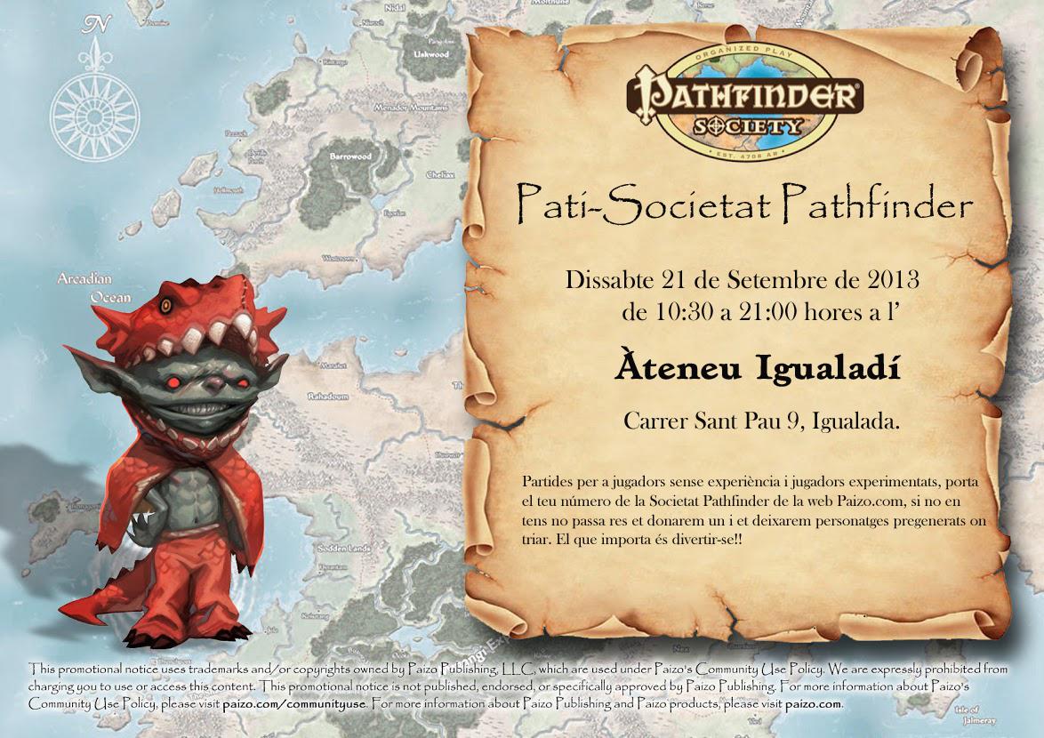 Pati-Societat Pathfinder