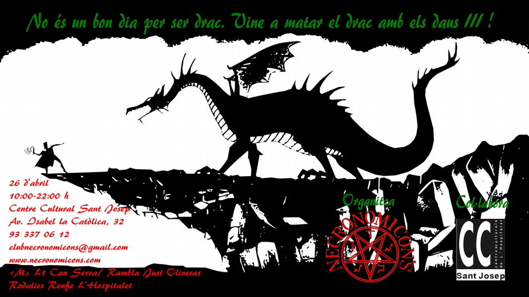 Mata el drac amb els daus III