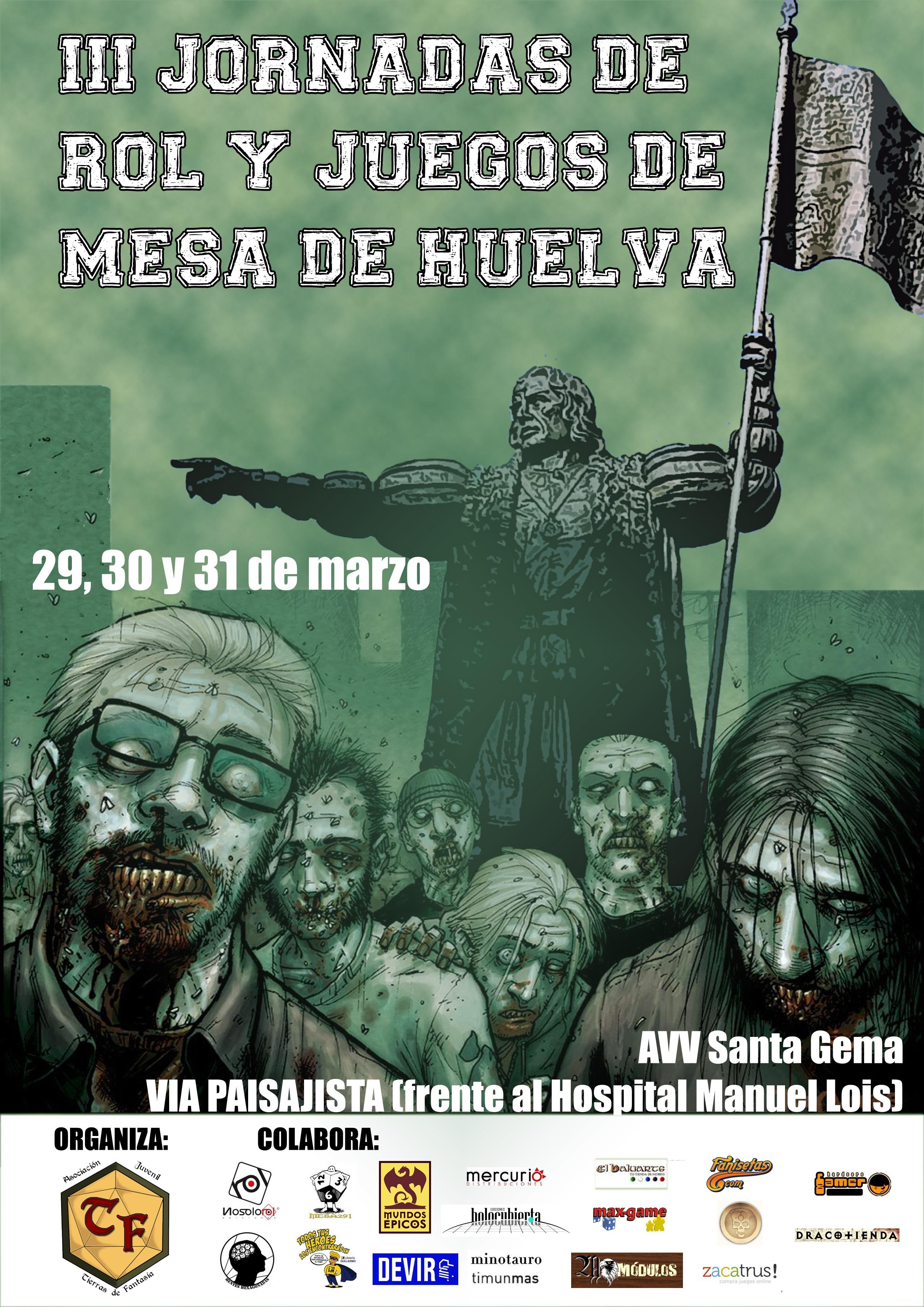 III Jornadas de Rol y Juegos de Mesa de Huelva