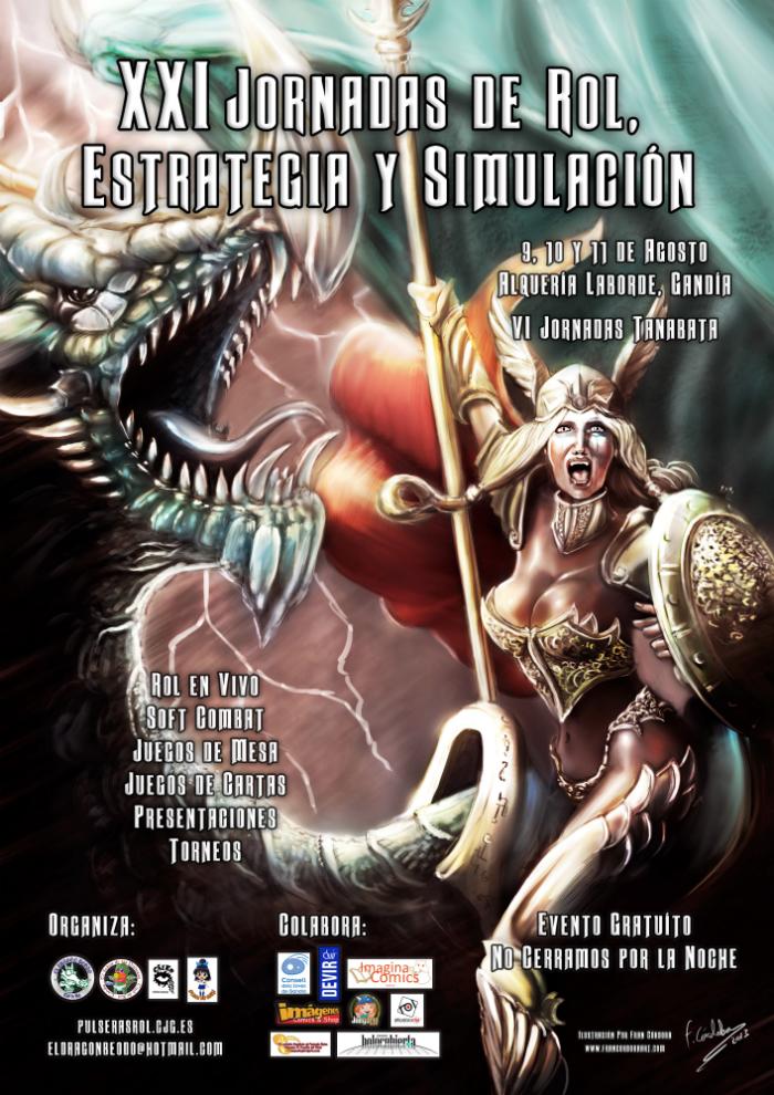 XX Jornadas de Rol, Estrategia y Simulación de Gandía (Valencia)