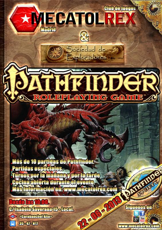 Pathfinder Society en Mecatol Rex