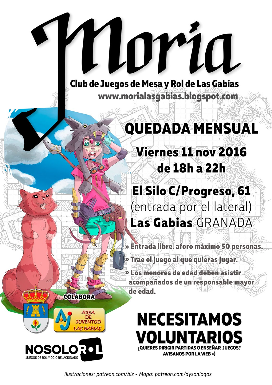 3a Quedada Club de rol Moria Las Gabias (Granada, España) 11NOV16