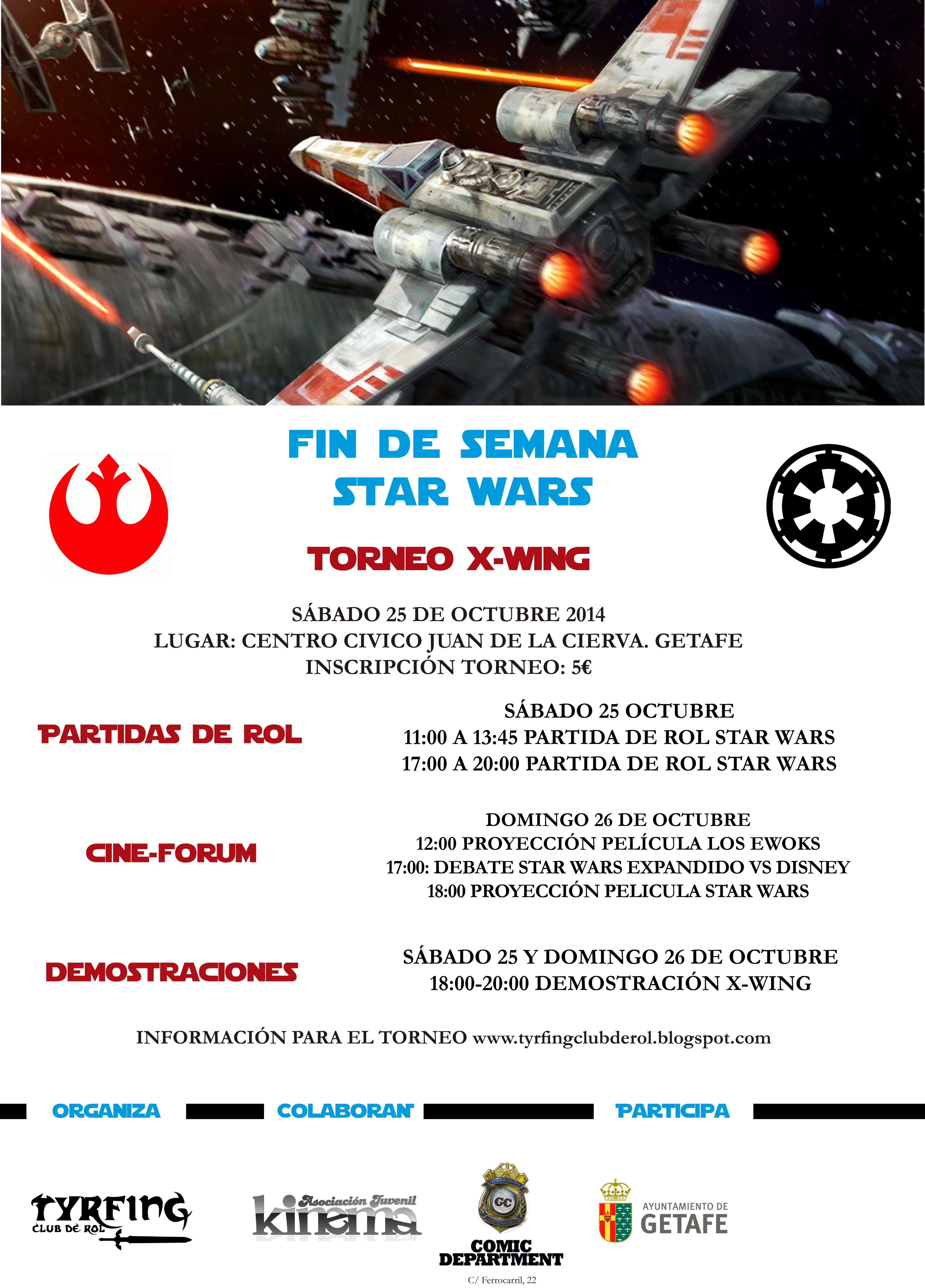 Fin de Semana Star Wars