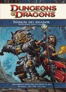 Manual del Jugador para D&D 4ª