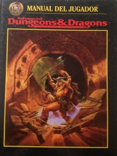 Manual del Jugador para Advanced D&D 2ª edición revisada