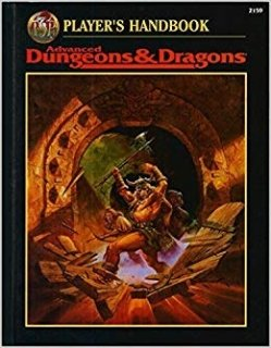 Players Handbook para Advanced D&D 2nd Edition Revised