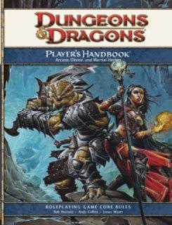 Player's Handbook para D&D 4th Edition