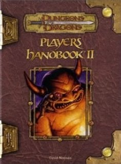 Player's Handbook II para D&D 3.5 Edition