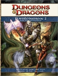 Player's Handbook 2 para D&D 4th Edition