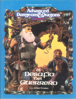 El desafío del guerrero - Dungeons and Dragons