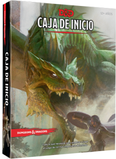 Dungeons & Dragons 5º edición - Caja de inicio - Dungeons and Dragons