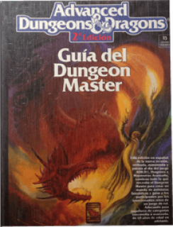 Guía del Dungeon Master para Advanced D&D 2ª