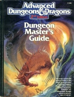 Dungeon Master Guide para AD&D 2nd Edition