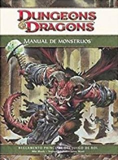 Manual de Monstruos para D&D 4ª
