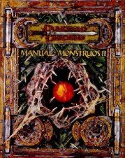 Manual de Monstruos II para D&D 3ª