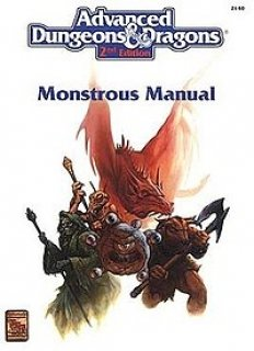 Monstrous Compendium para Advanced Dungeons & Dragons 2nd Edition