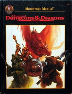 Monster Manual para Advanced Dungeons & Dragons 2nd Edition Revised