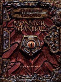 Monster Manual para Dungeons & Dragons 3rd Edition