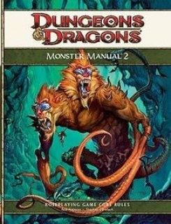 Monster Manual 2 para D&D 4th Edition