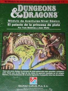El palacio de la princesa de plata - Dungeons and Dragons