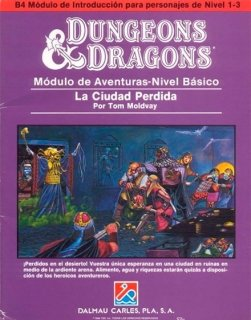 La ciudad perdida - Dungeons and Dragons