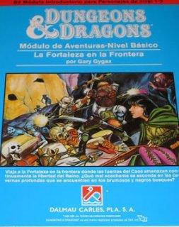 La fortaleza en la frontera - Dungeons and Dragons