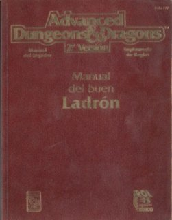 Manual del buen ladrón - Dungeons and Dragons